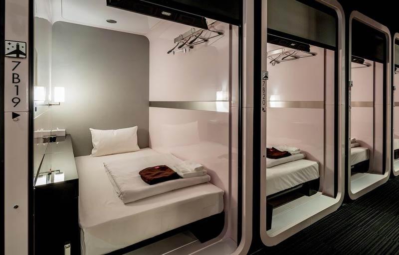 Hotel a capsula di Tokyo