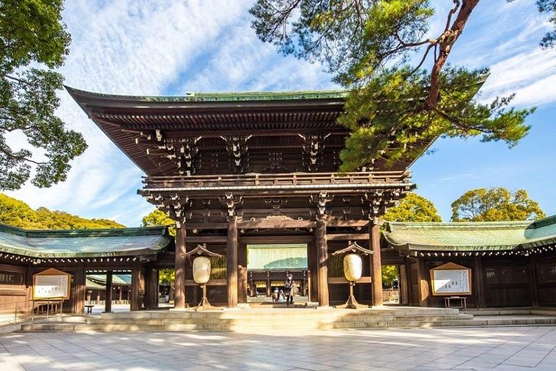 Santuario Meiji Tokyo