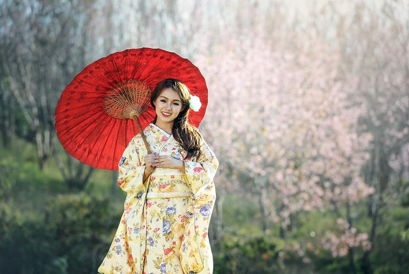 kimono giappone